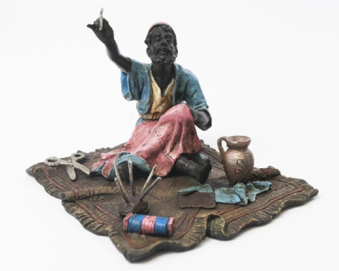 Signed Franz Bergmann Austrian Bronze Statue