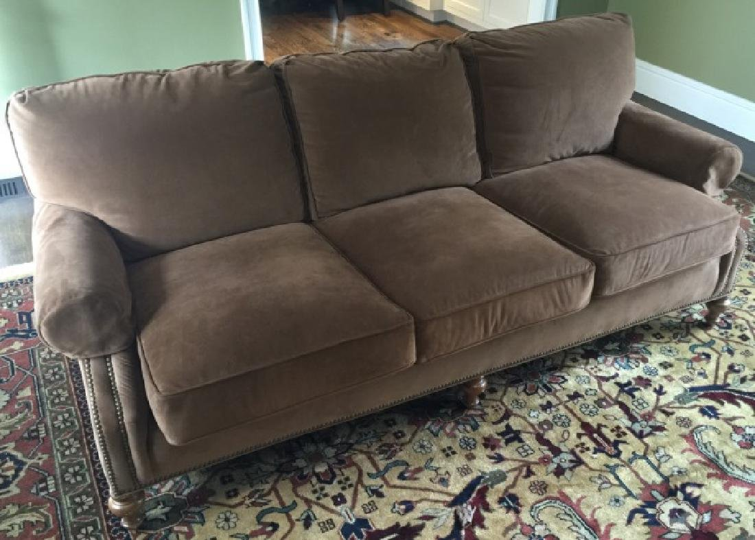 Contemporary Traditional Wesley Hall Sofa / Couch