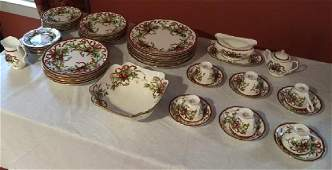 Tiffany  Co Holiday Porcelain Dinner Service