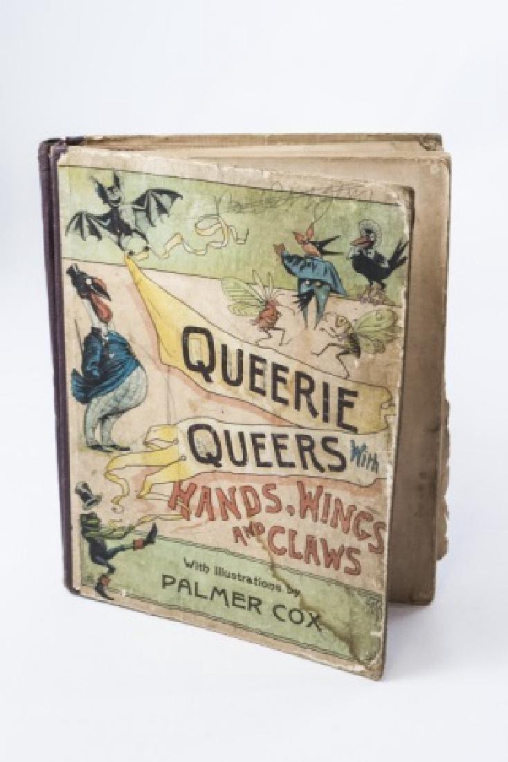 "Palmer Cox Antique Book ""Queerie Queers"""