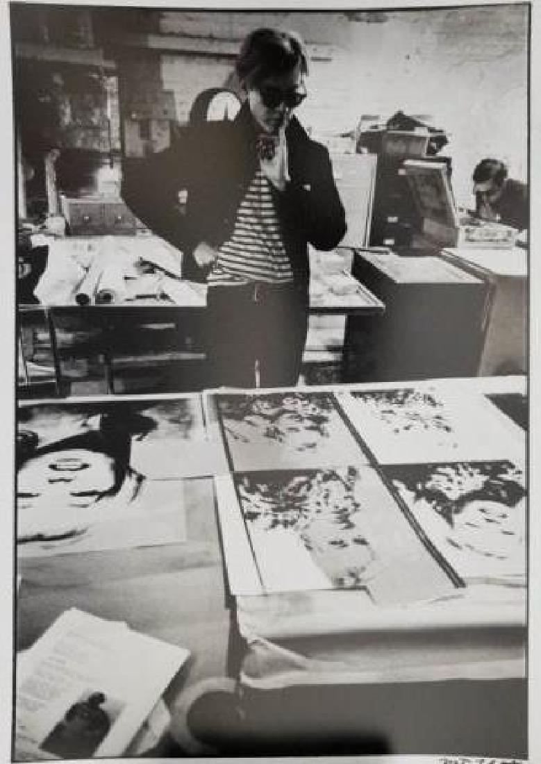 Nat Finkelstein - Signed Black & White Photograph
