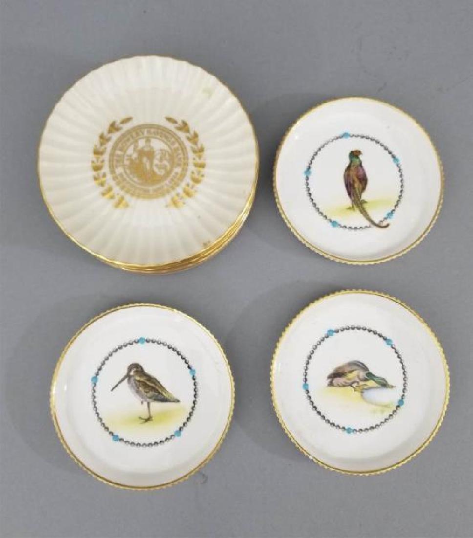 Assorted Royal Worcester & Lenox Plates