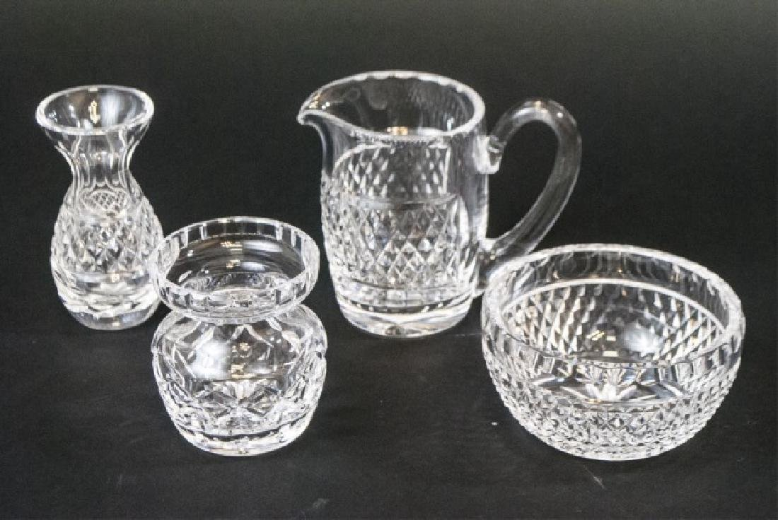 Four Waterford Irish Crystal Table & Serving Item