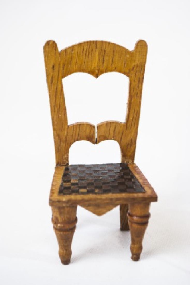 Antique Dollhouse / Doll Furniture & Accessories - 2