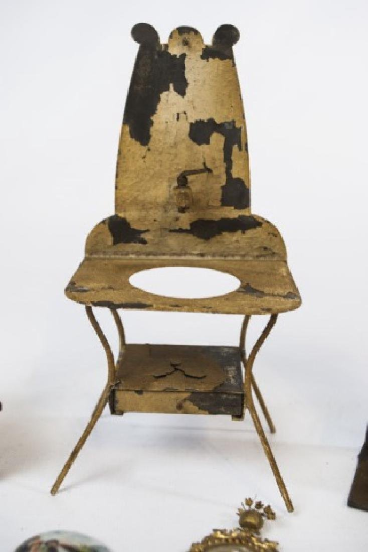 Antique Dollhouse / Doll Furniture & Accessories - 3
