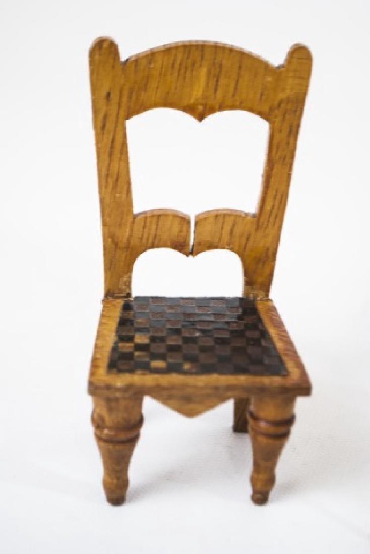 Antique Dollhouse / Doll Furniture & Accessories - 8