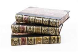 Antique Leather Books The History of Civilization