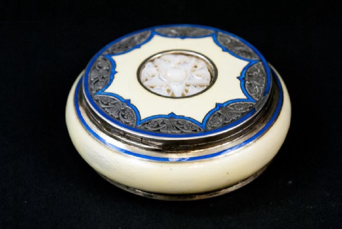 Antique Austrian Enamel G A Scheid Table Box