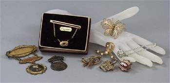 Antique & Vintage Brooches, Pins & Medals