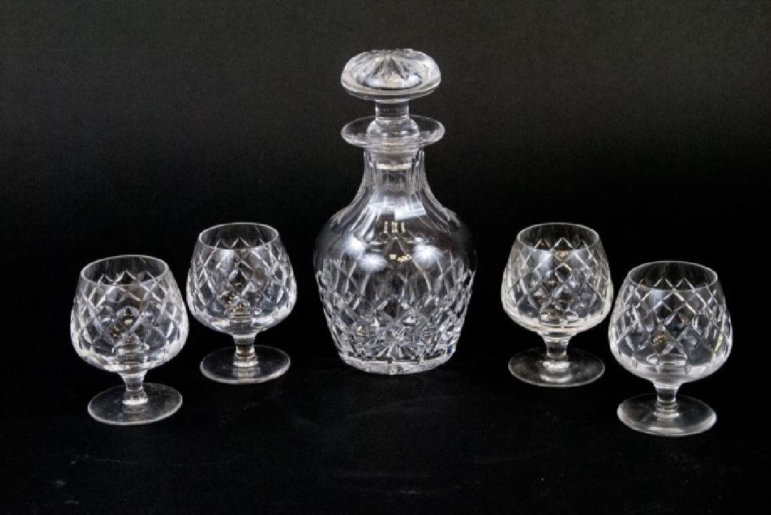 Cartier Boxed Set - Crystal Decanter & Goblets