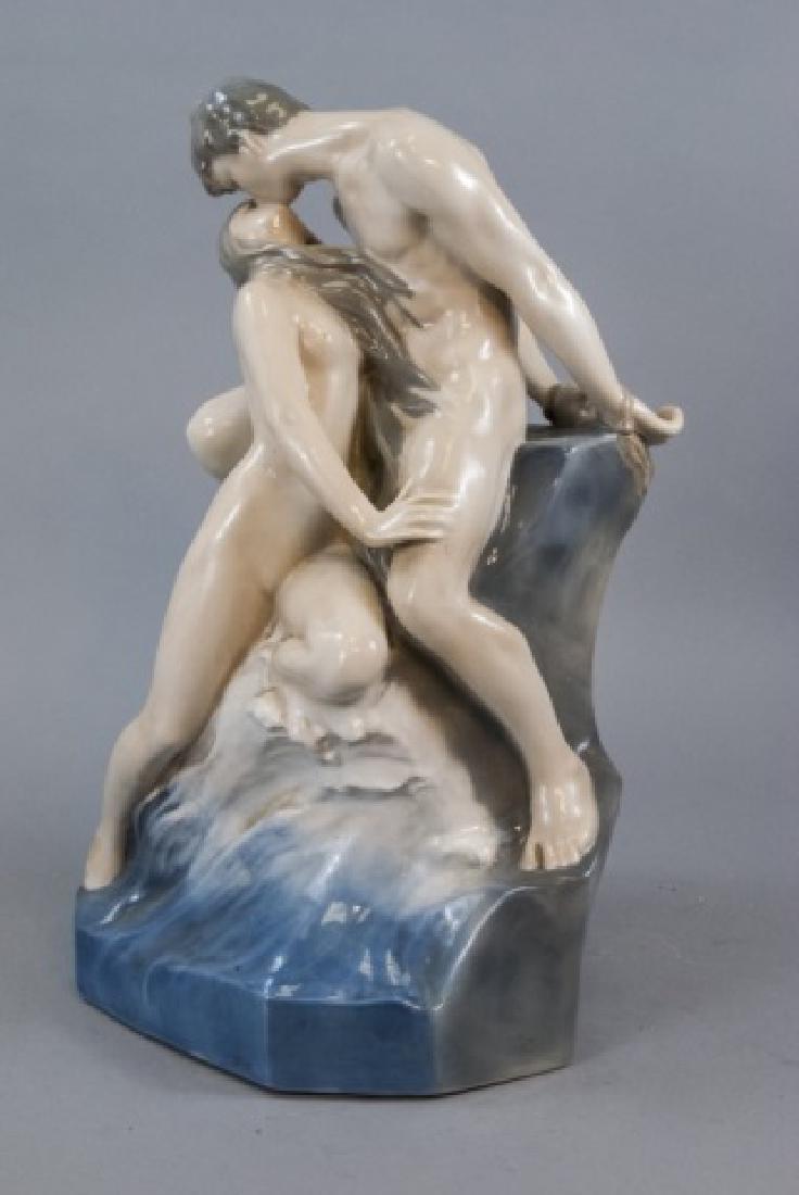 Monumental Royal Copenhagen Porcelain Statue 1of2