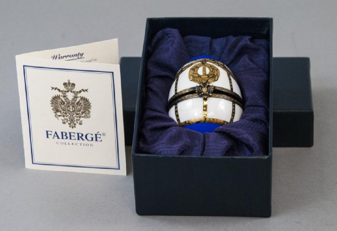 Faberge Porcelain Egg Decorative Item in Orig. Box