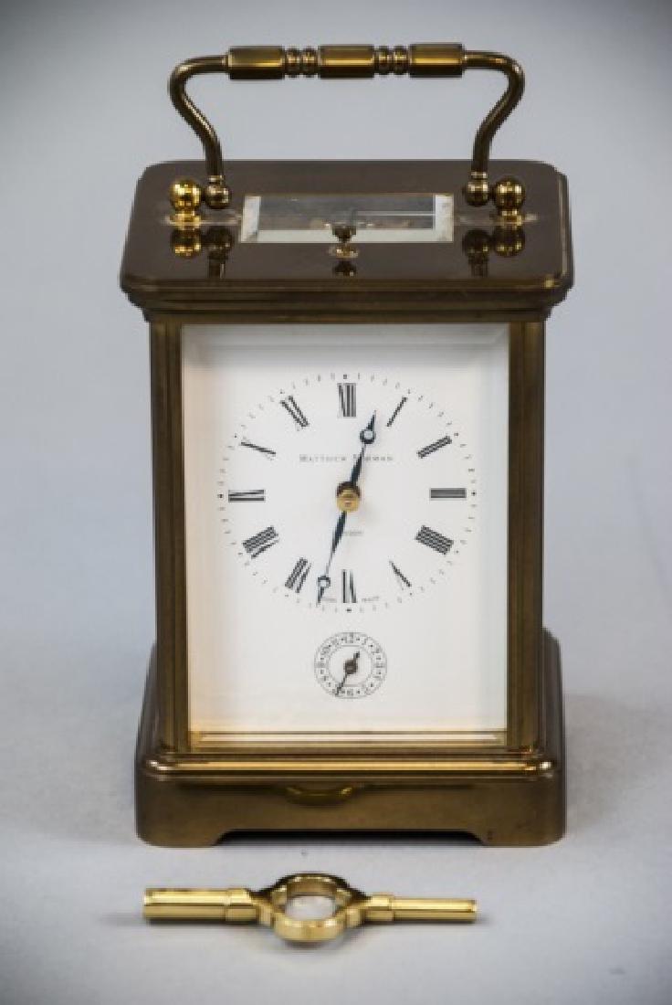 Matthew Norman Swiss Made Carriage Clock