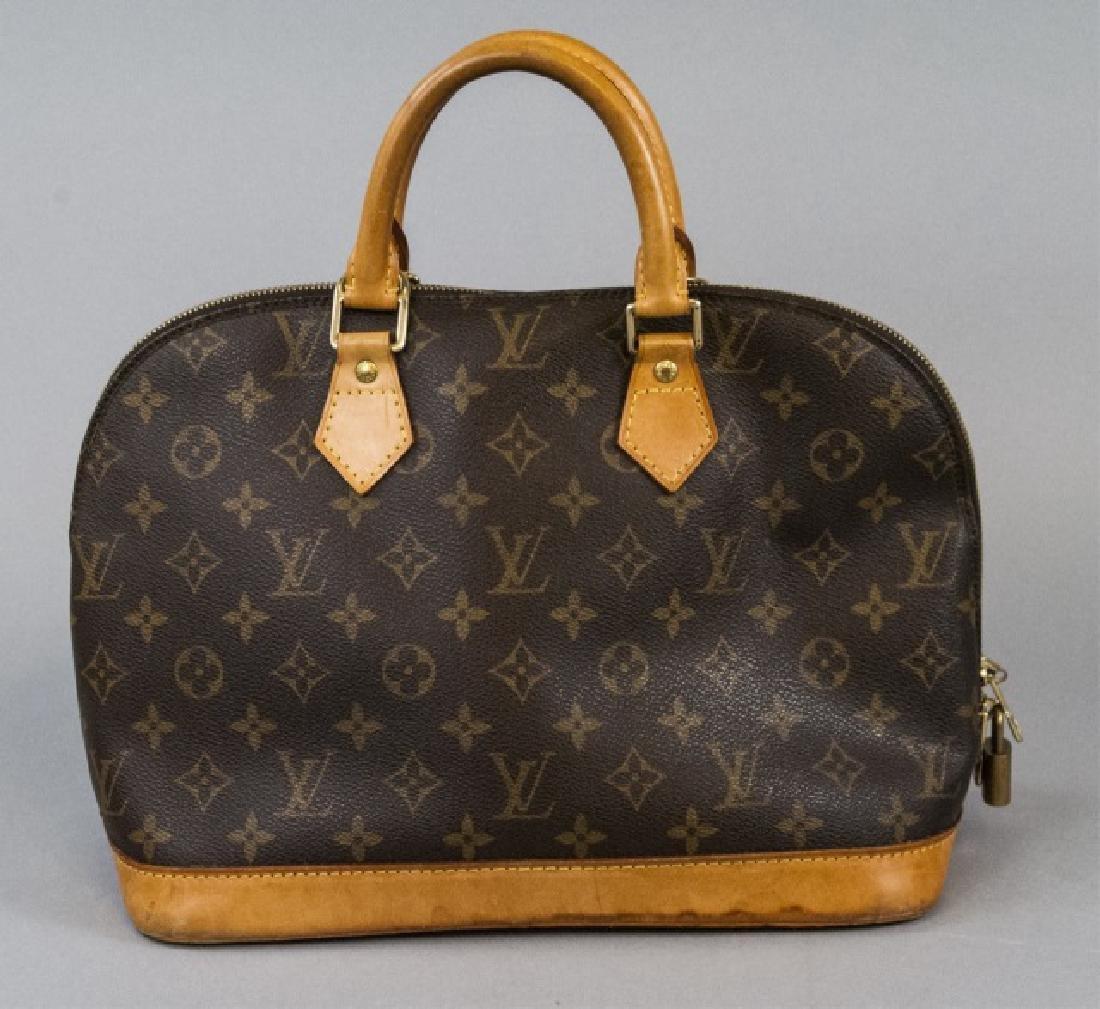 Vintage Louis Vuitton Monogram & Leather Purse