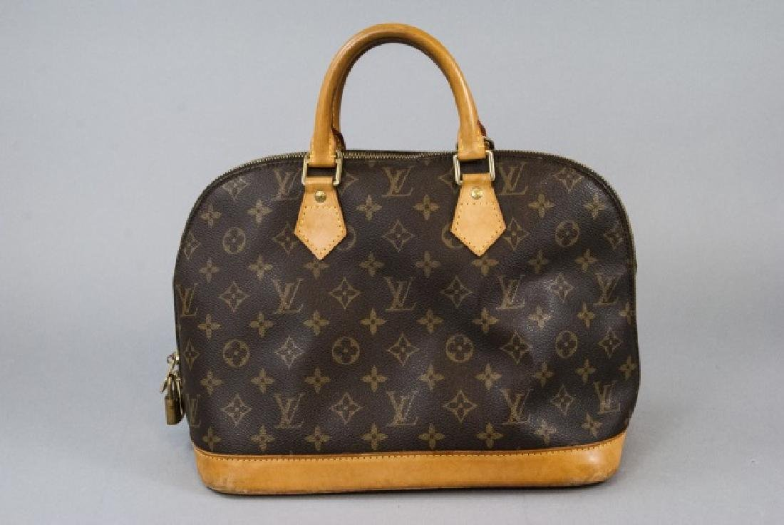 Vintage Louis Vuitton Monogram & Leather Purse - 3