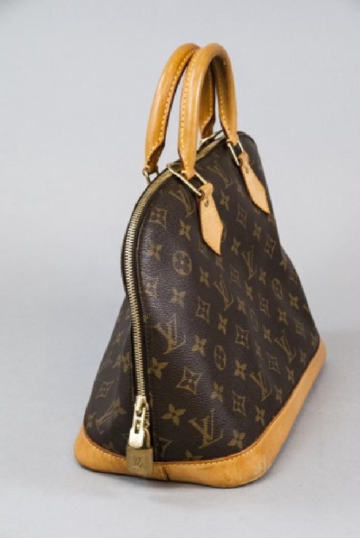 Vintage Louis Vuitton Monogram & Leather Purse - 4