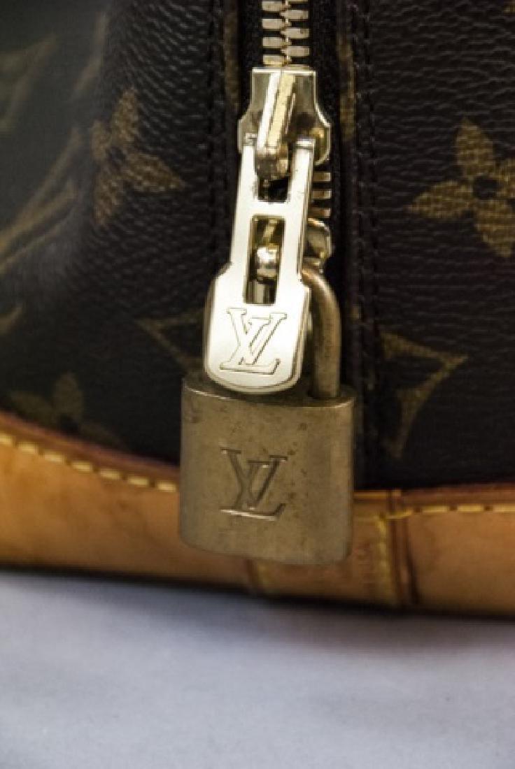 Vintage Louis Vuitton Monogram & Leather Purse - 5