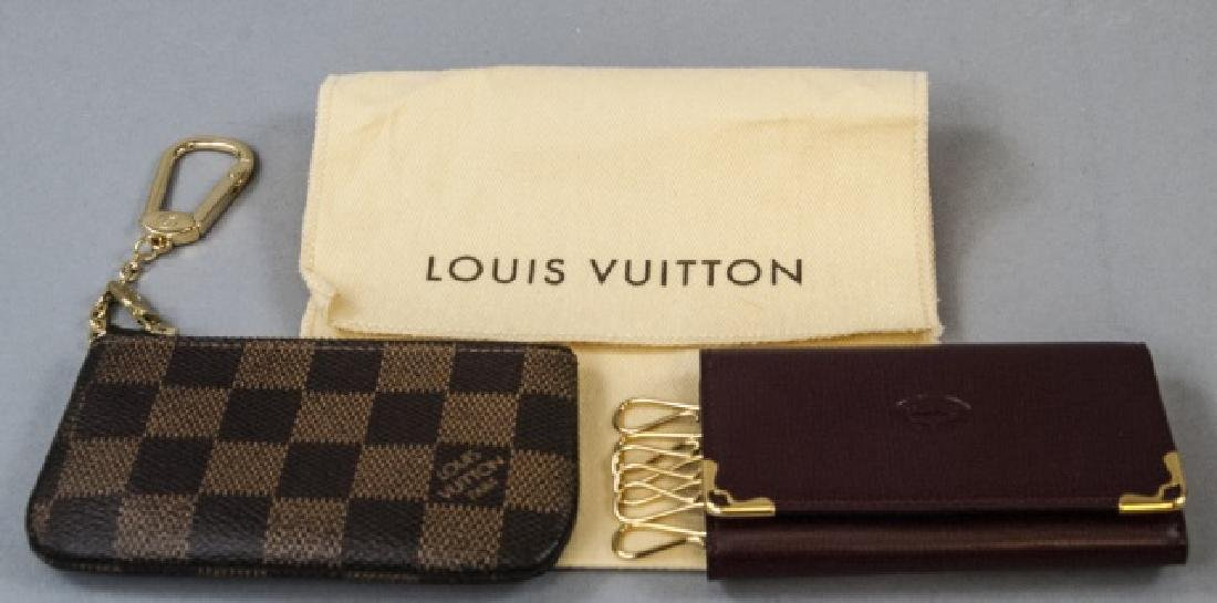Louis Vuitton Change Purse & Cartier Key Holder
