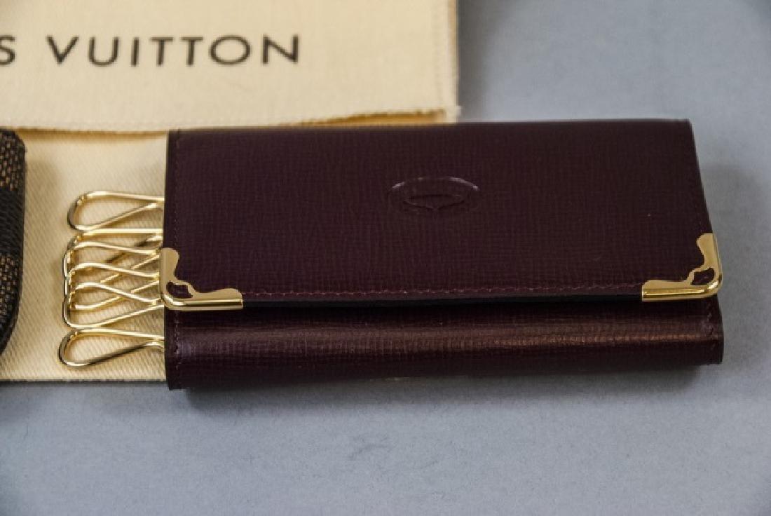 Louis Vuitton Change Purse & Cartier Key Holder - 4