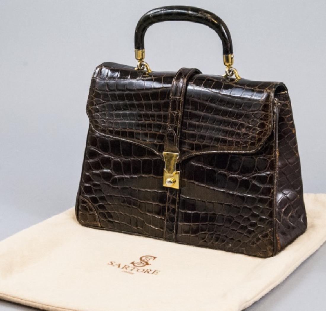 Vintage Lucille de Paris Alligator Purse Hand Bag
