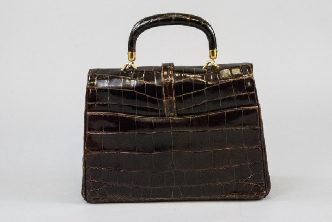 Vintage Lucille de Paris Alligator Purse Hand Bag - 8