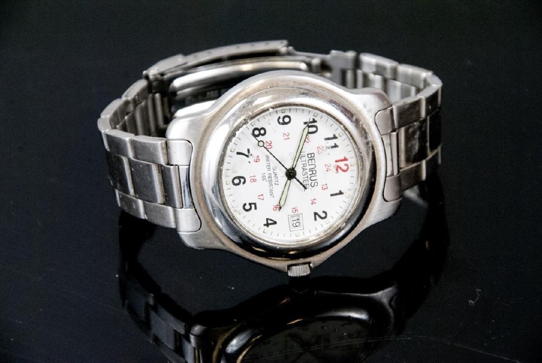 Benrus Ultrasteel Men's Water Resistant Watch