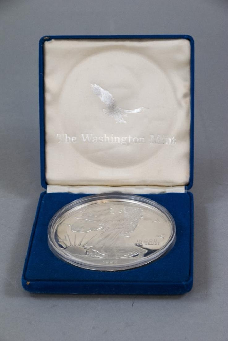 8 Ounce Washington Mint Sterling Silver Coin