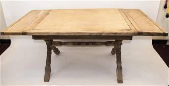 Large French Country Farm Dining Room Table