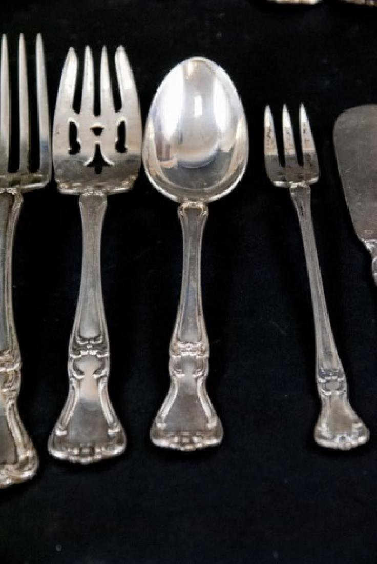 Antique Gorham Sterling Silver Serving Flatware - 2