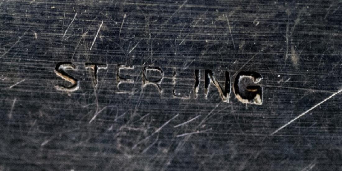 Sterling Silver & Jade Box Style of Edward Farmer - 3