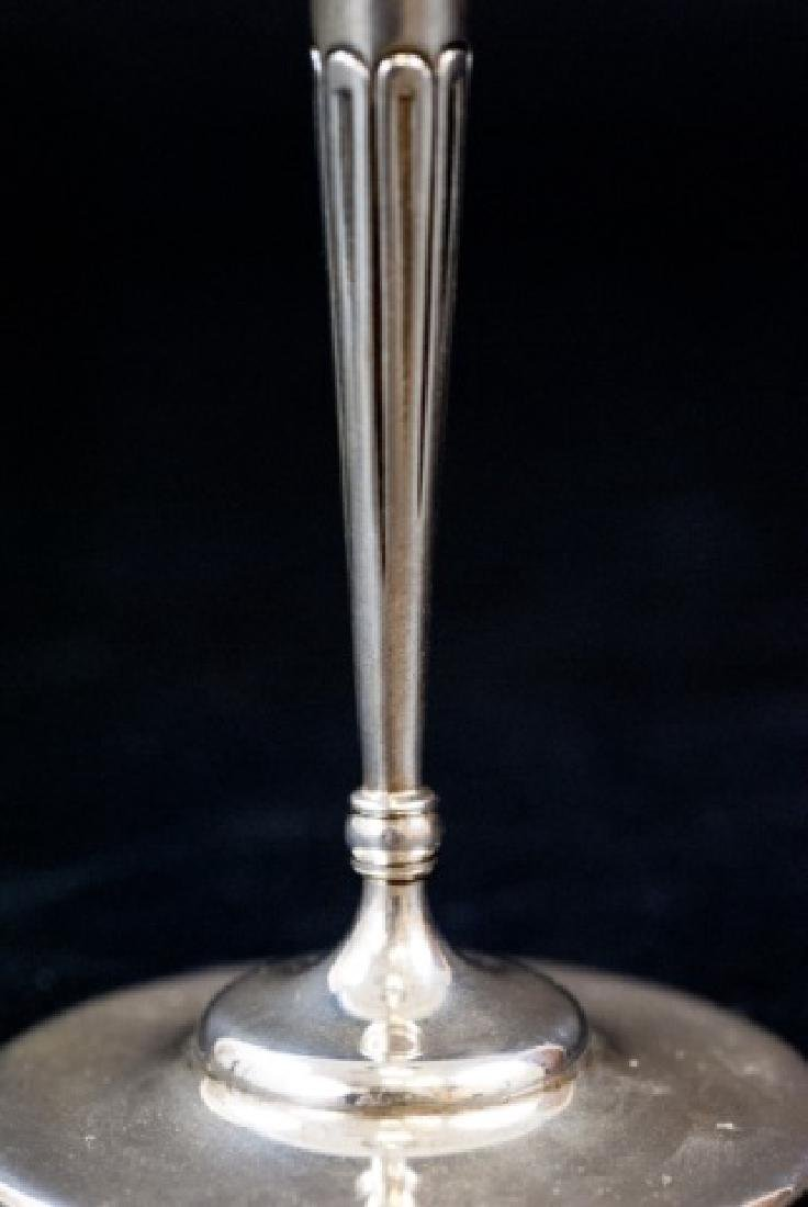 Antique Tiffany & Co Makers Sterling Silver Vase - 2