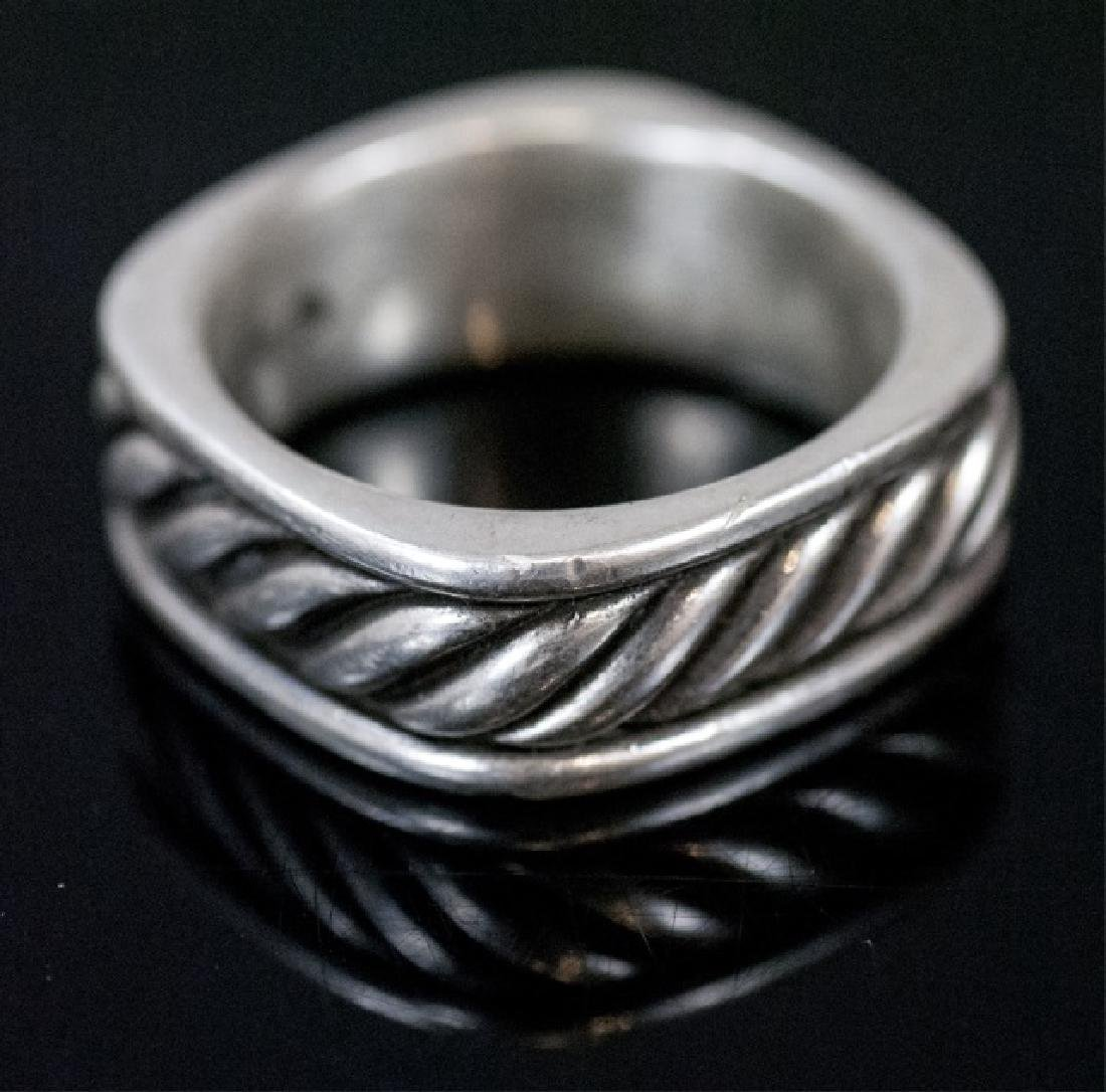 David Yurman Sterling Silver Men's Ring / Band
