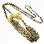 Signed Hattie Carnegie Costume Ram Necklace