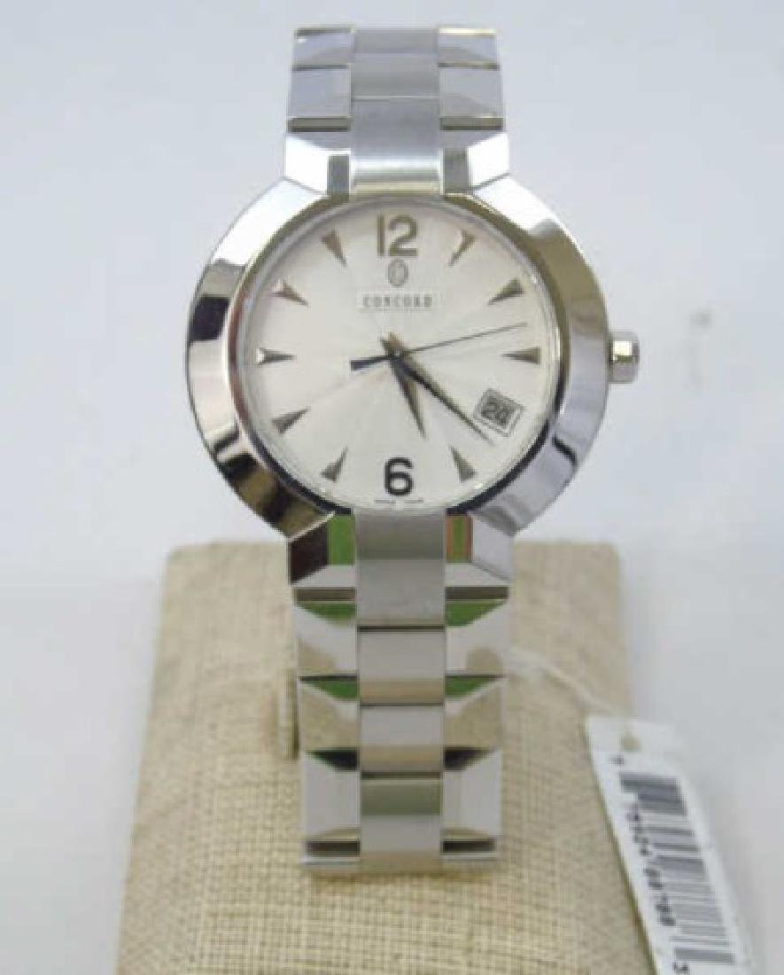 Men's Stainless Concord LaScala Watch New in Box - 2