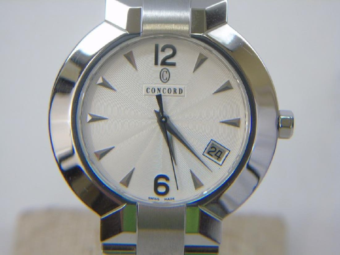 Men's Stainless Concord LaScala Watch New in Box - 5