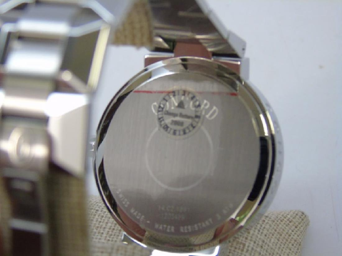 Men's Stainless Concord LaScala Watch New in Box - 6