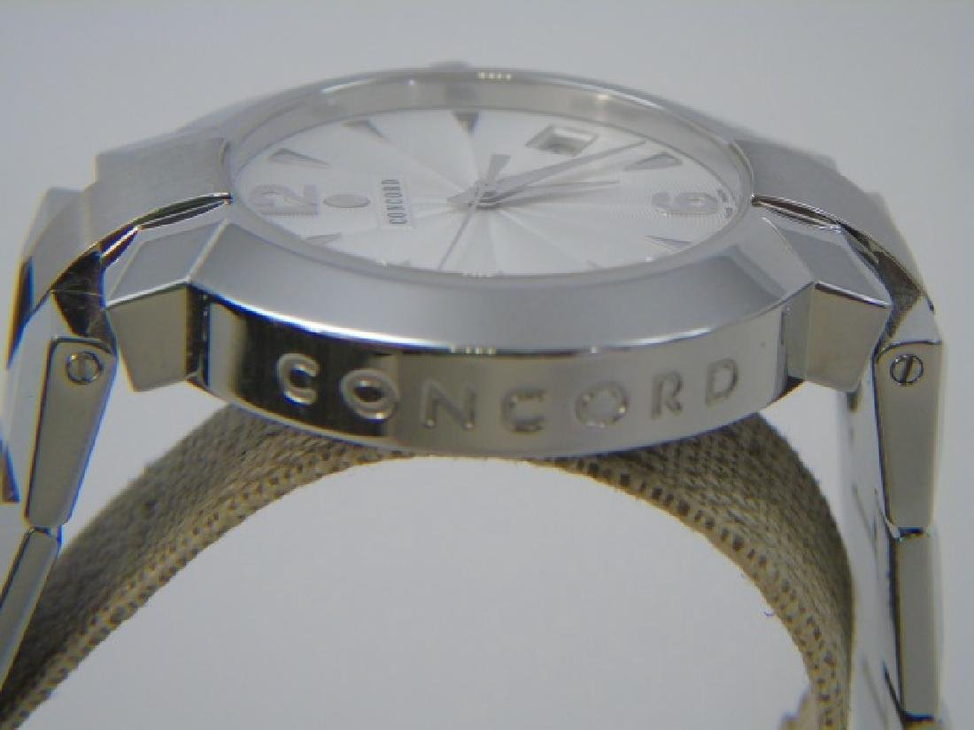 Men's Stainless Concord LaScala Watch New in Box - 7