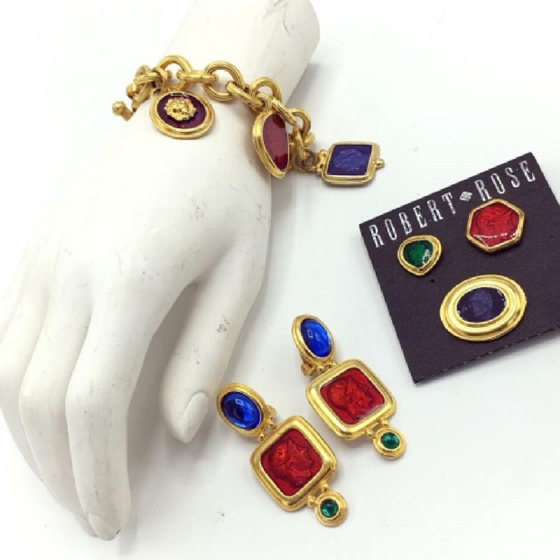 Vintage Robert Rose Roman Inspired Costume Jewelry