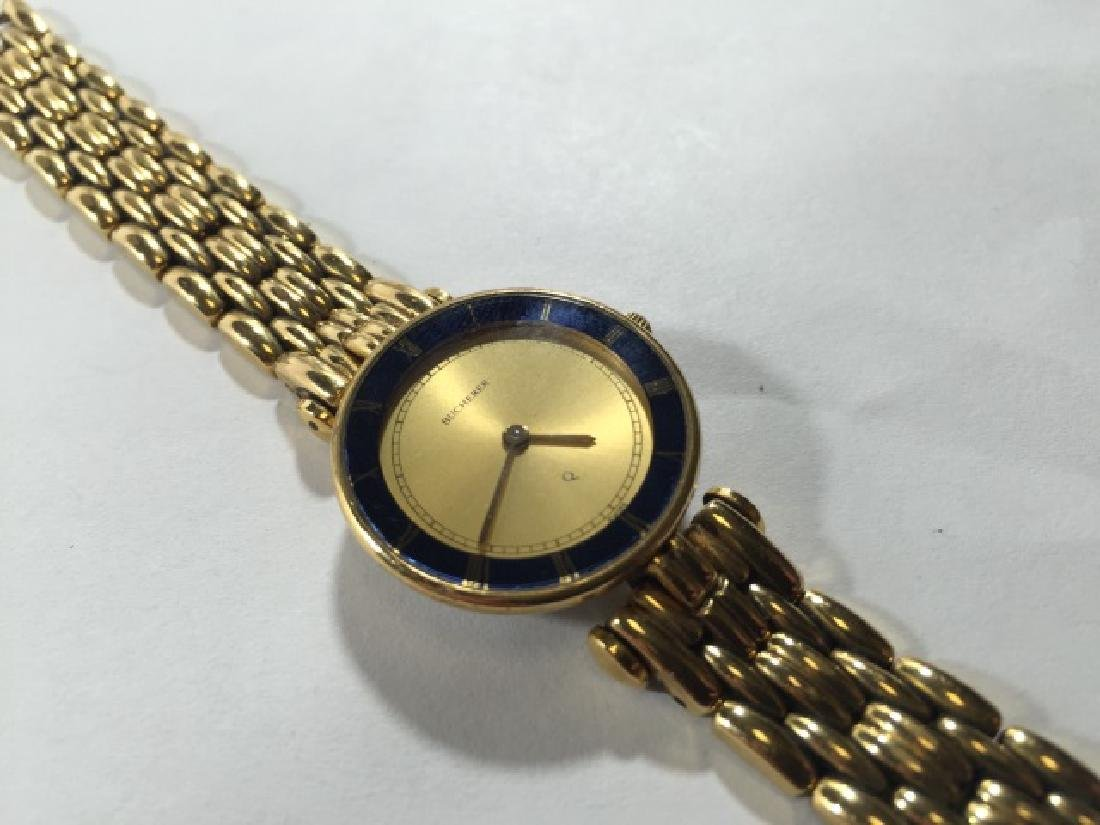 Bucherer Swiss Made Gold Plated Ladies Watch
