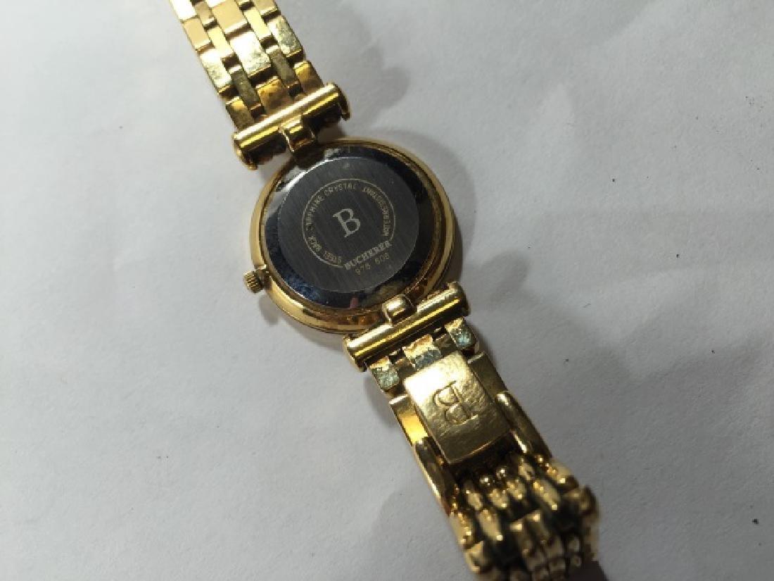 Bucherer Swiss Made Gold Plated Ladies Watch - 2