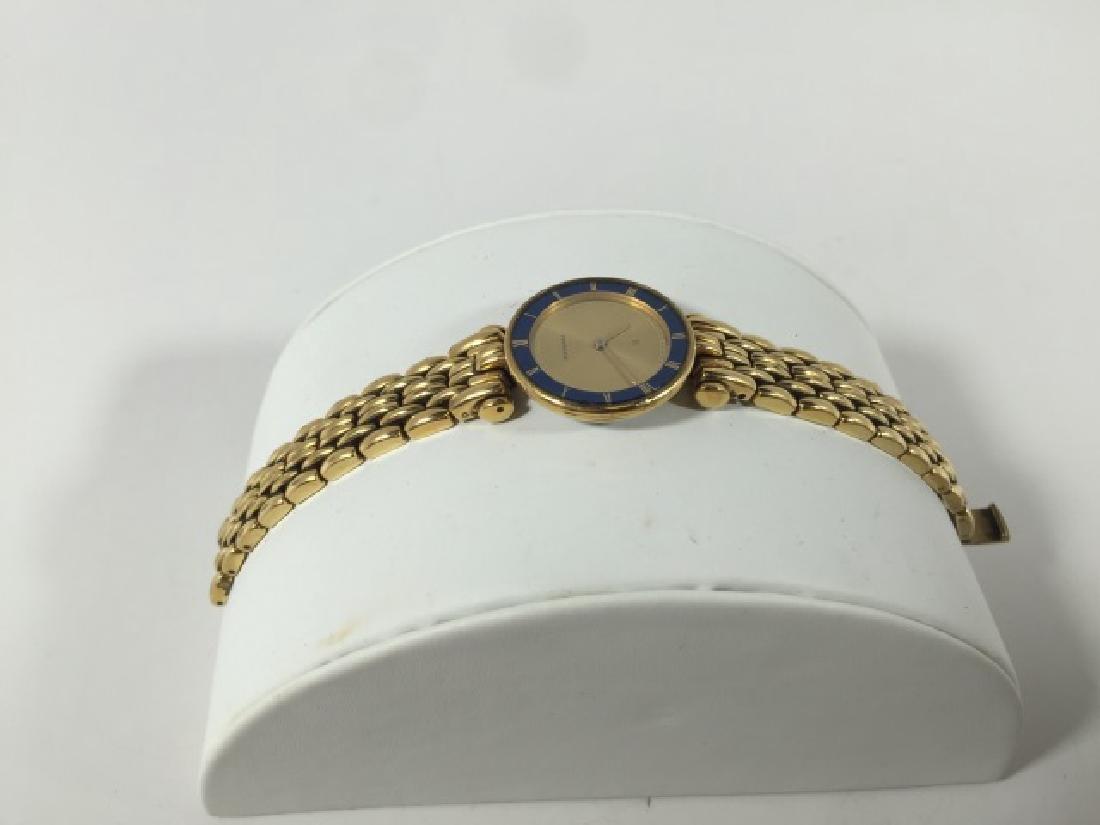 Bucherer Swiss Made Gold Plated Ladies Watch - 3
