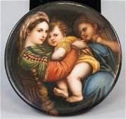 Antique Hand Painted Porcelain After Raphael