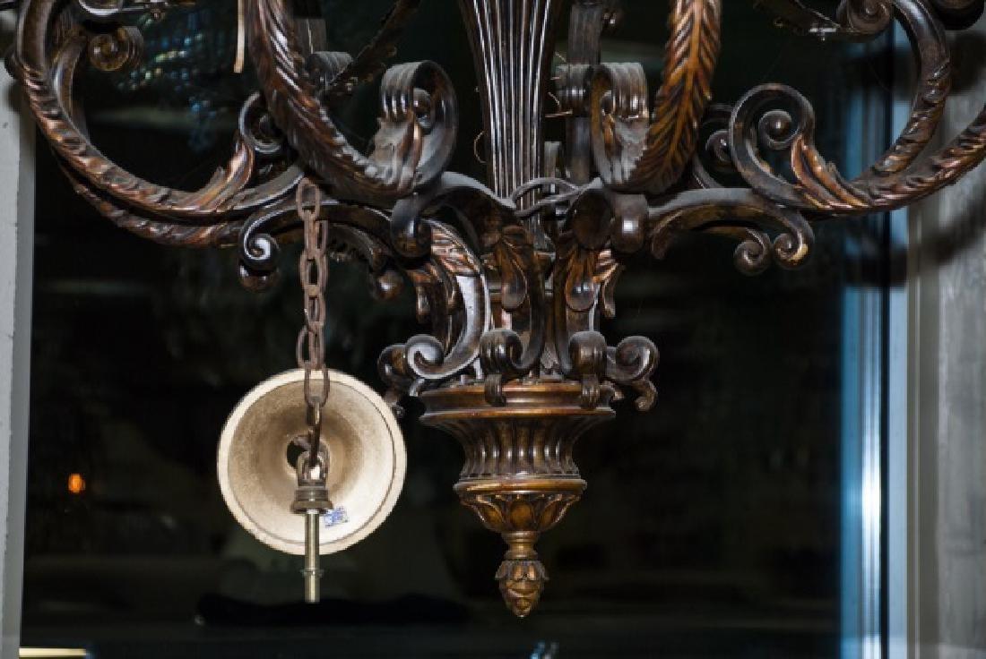 Contemporary Italian Baroque Style Chandelier - 3
