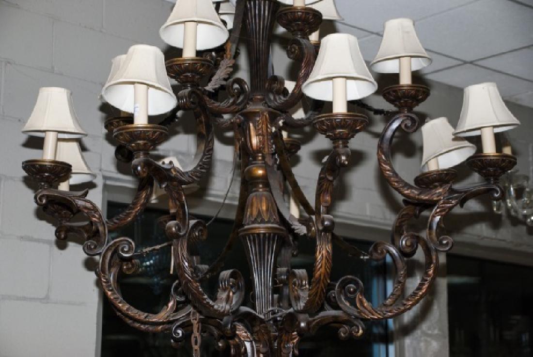 Contemporary Italian Baroque Style Chandelier - 4