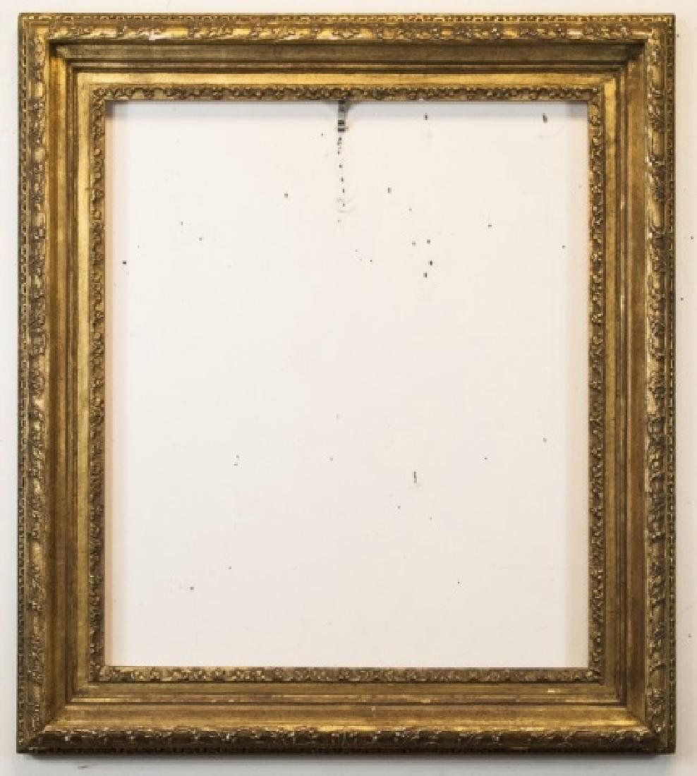 Quality Custom Made Gold Leaf Painting Frame