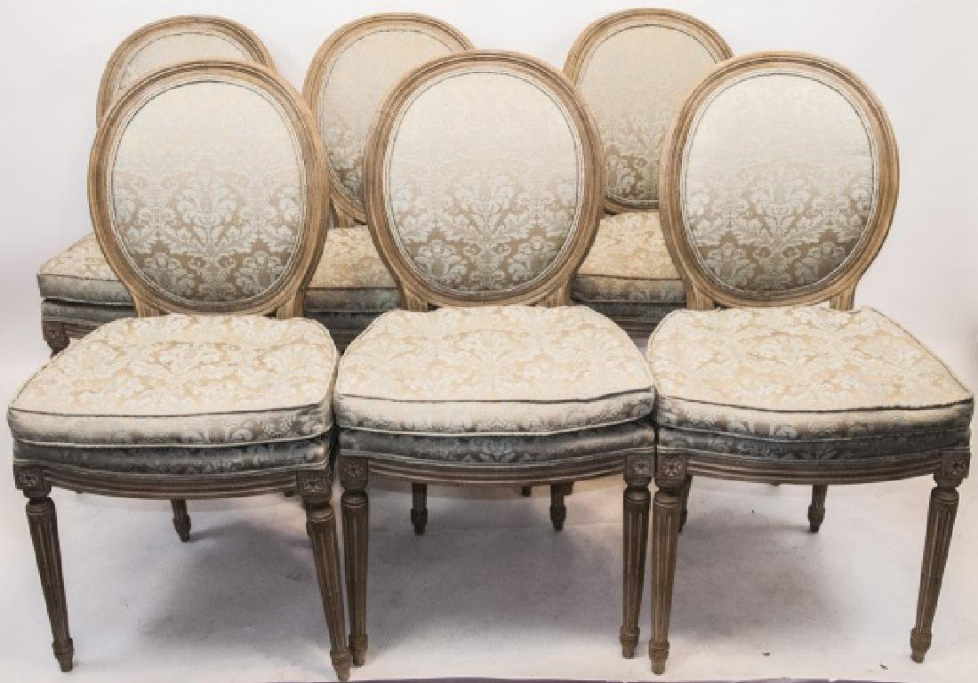 Set French Louis XVI Style Dining Chairs