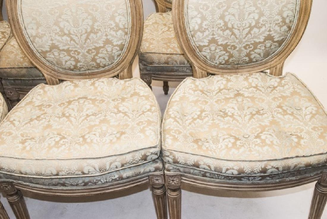 Set French Louis XVI Style Dining Chairs - 2
