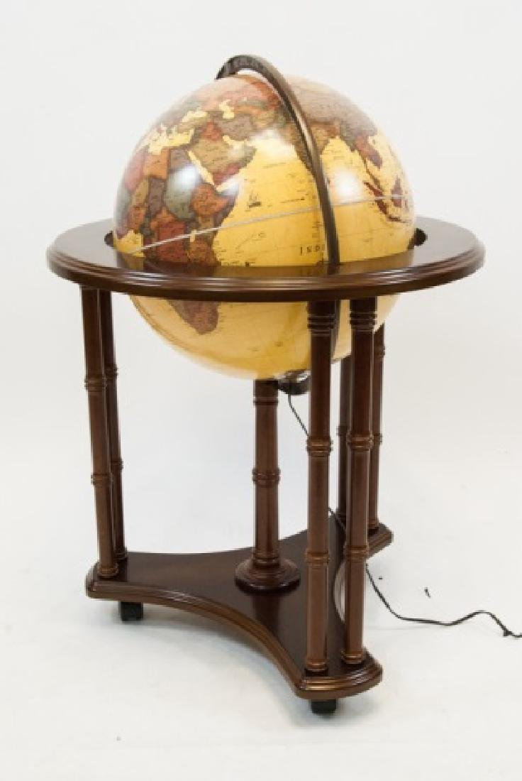 "George Cram Co. ""Classica"" Globe on Stand"