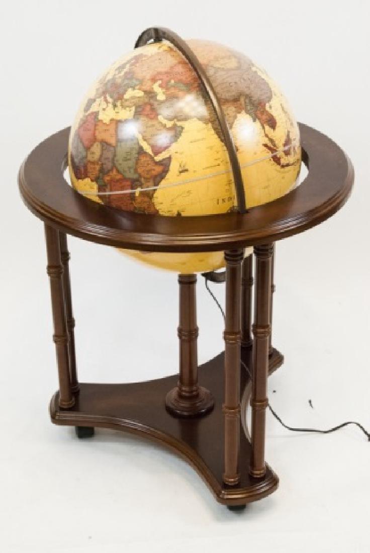 "George Cram Co. ""Classica"" Globe on Stand - 3"