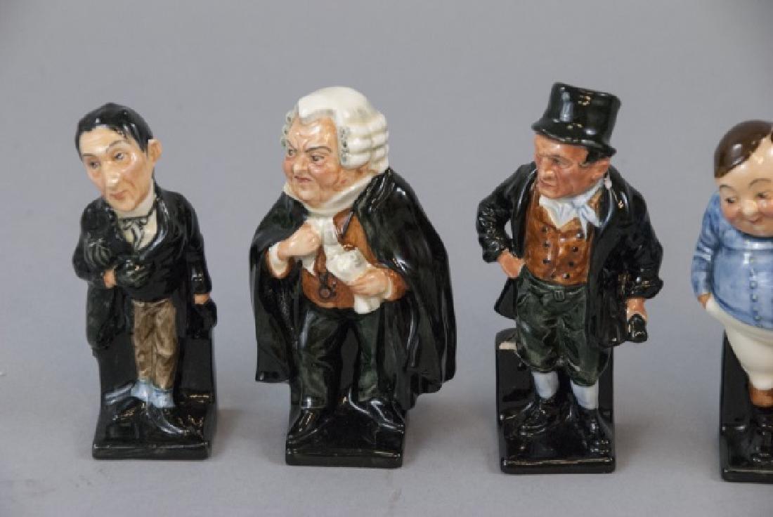 Set Of 14 Royal Doulton Porcelain Dickens Figures - 2
